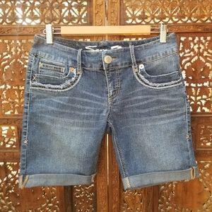 7 For All Mankind A Pocket Long Cuff Shorts 29